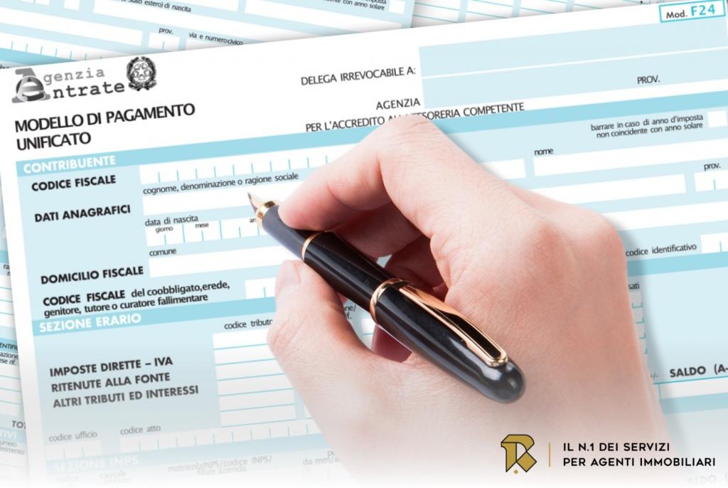 f24 nuove modalità versamento imposte atti privati