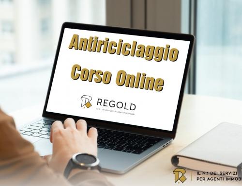 Novità: corso online sull'antiriciclaggio. Formazione garantita da Regold.