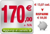 Pacchetto  G: 13 visure ipotecarie a 150 euro + iva